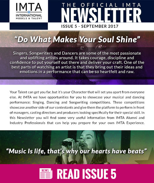 IMTA September 2017 Newsletter Issue 5